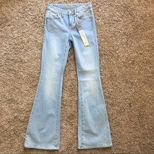 American Rag High Rise Flare Jeans